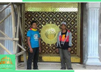 Replika Pintu Nabawi - Anugerah Kubah