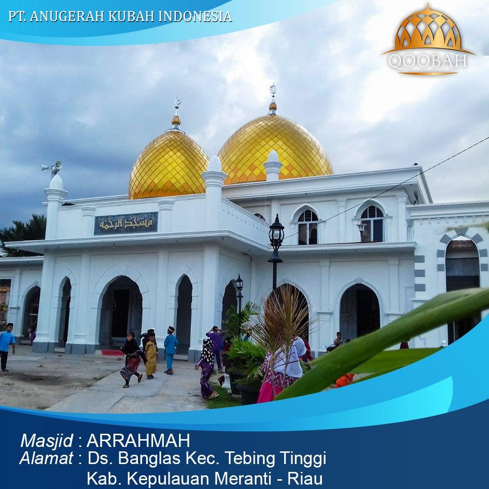 kubah masjid pekanbaru riau