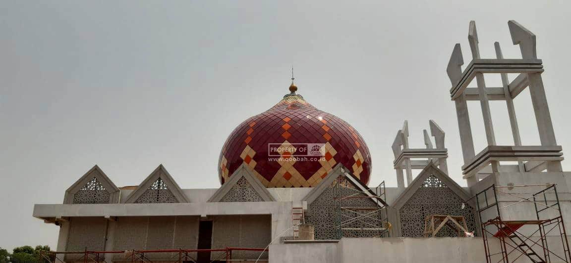 Kubah Masjid Puslabfor