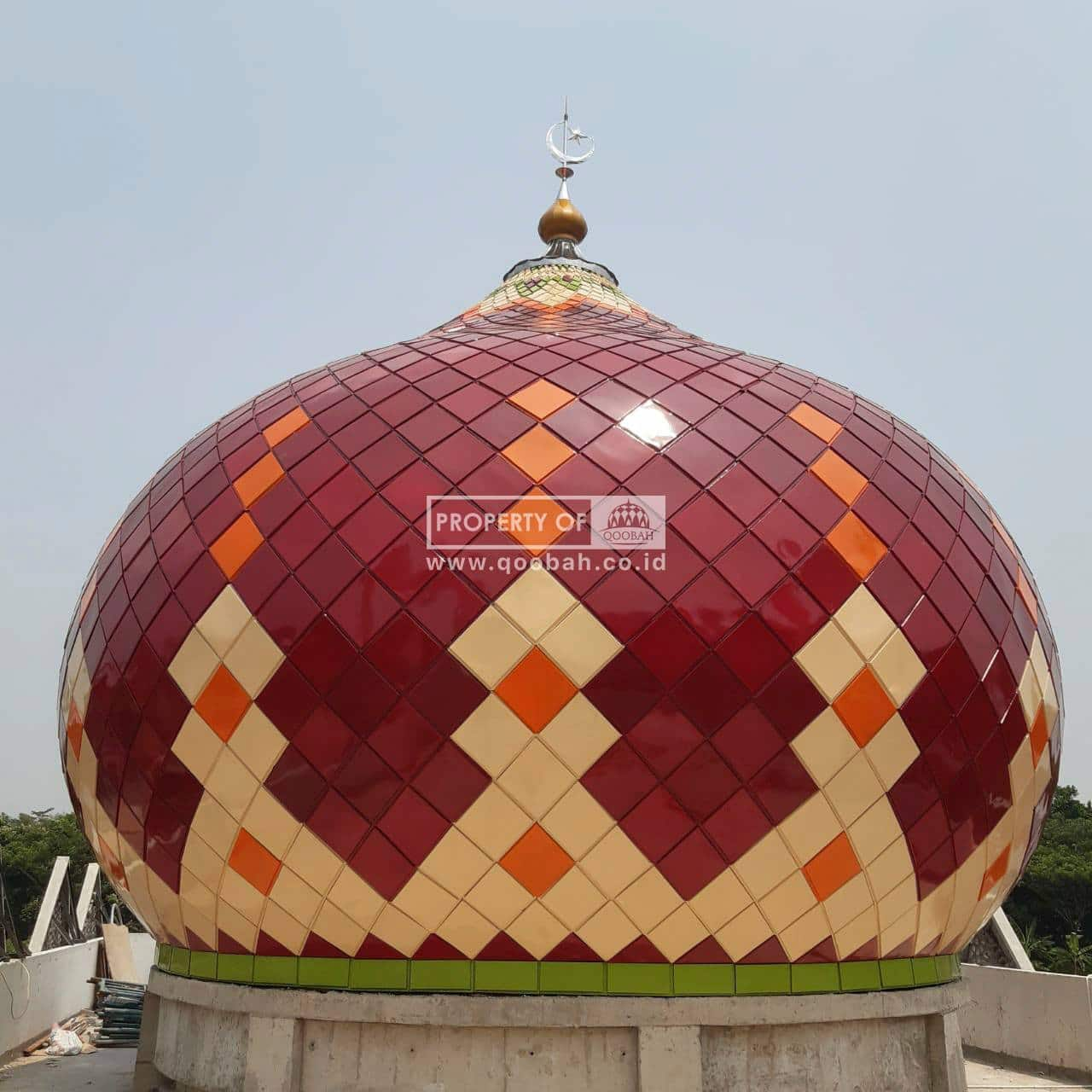 Kubah Masjid Puslabfor Bogor1