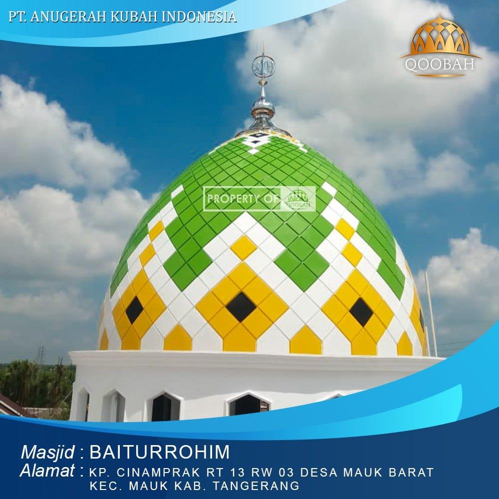 Kubah Masjid Tangerang Mauk