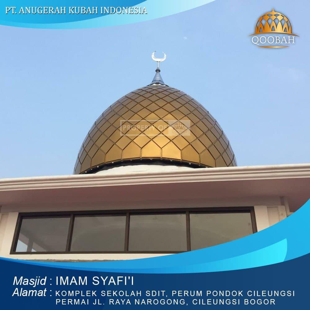 kubah masjid Bogor Cileungsi