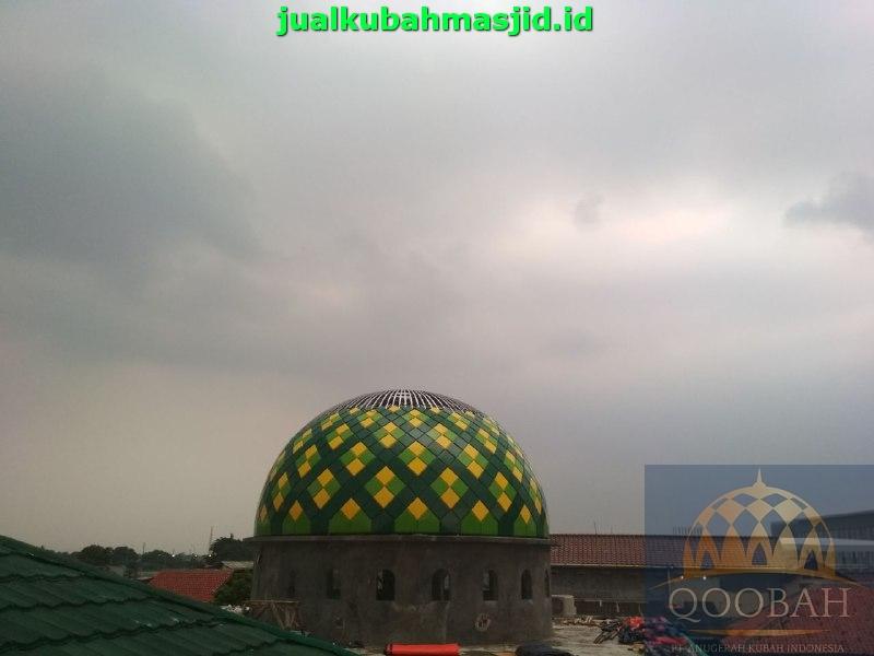 Kontraktor Kubah Masjid di Sumatera Barat