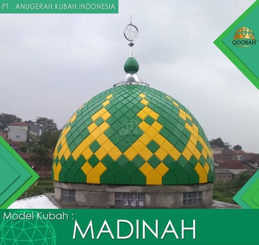 kontraktor kubah masjid enamel