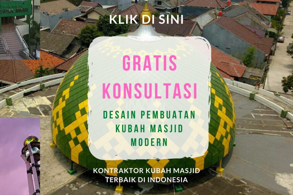 kontraktor kubah masjid modern