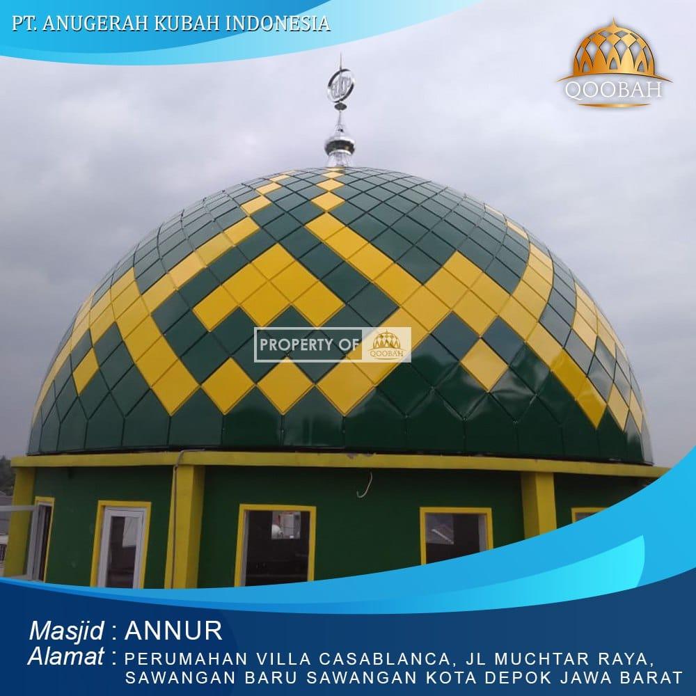 Kubah Masjid Depok Sawangan