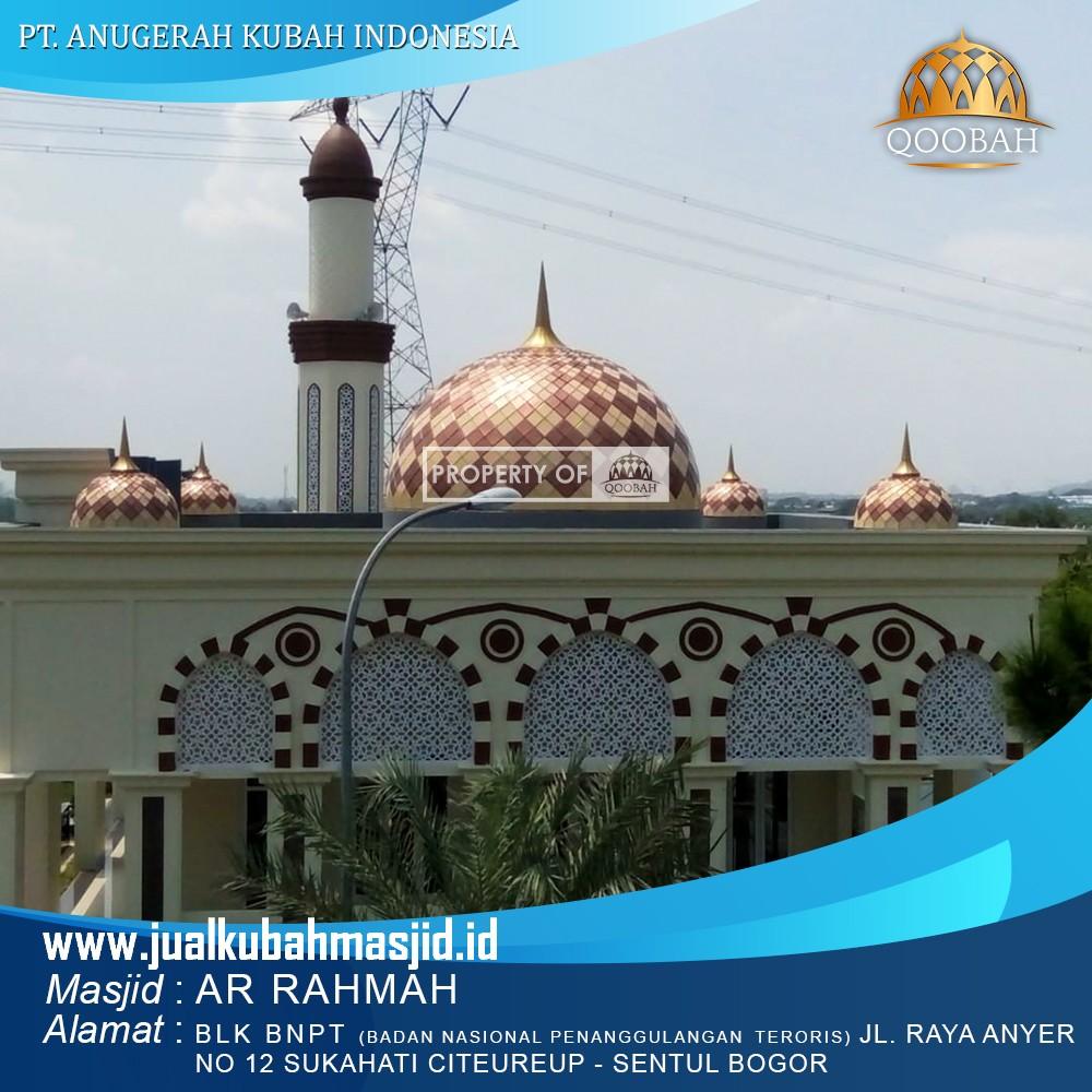 harga kubah masjid enamel