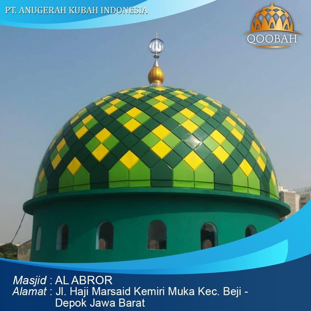 kubah masjid depok