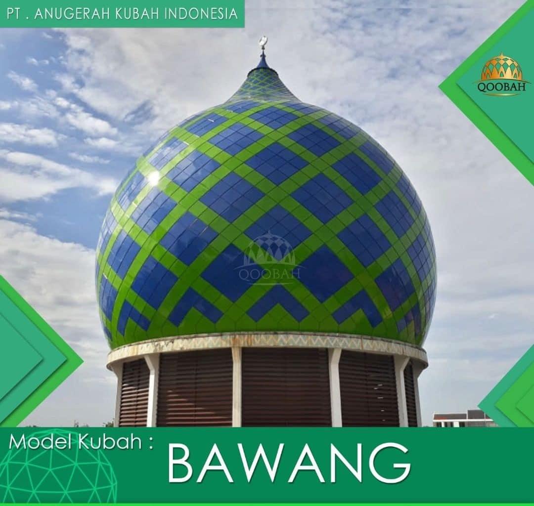 harga kubah masjid model bawang