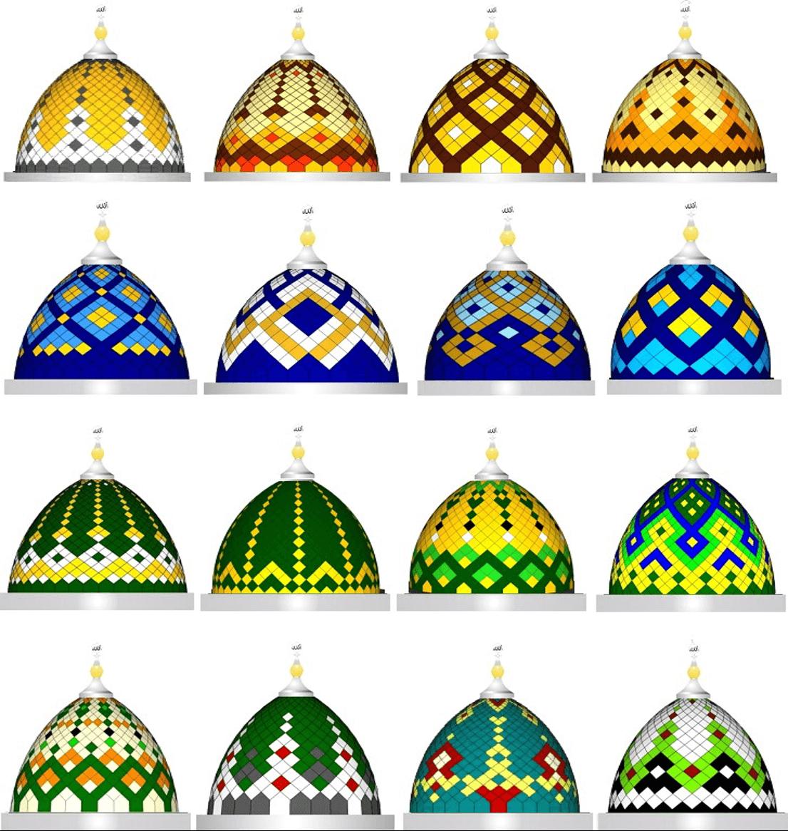 Kubah Masjid Model Madinah