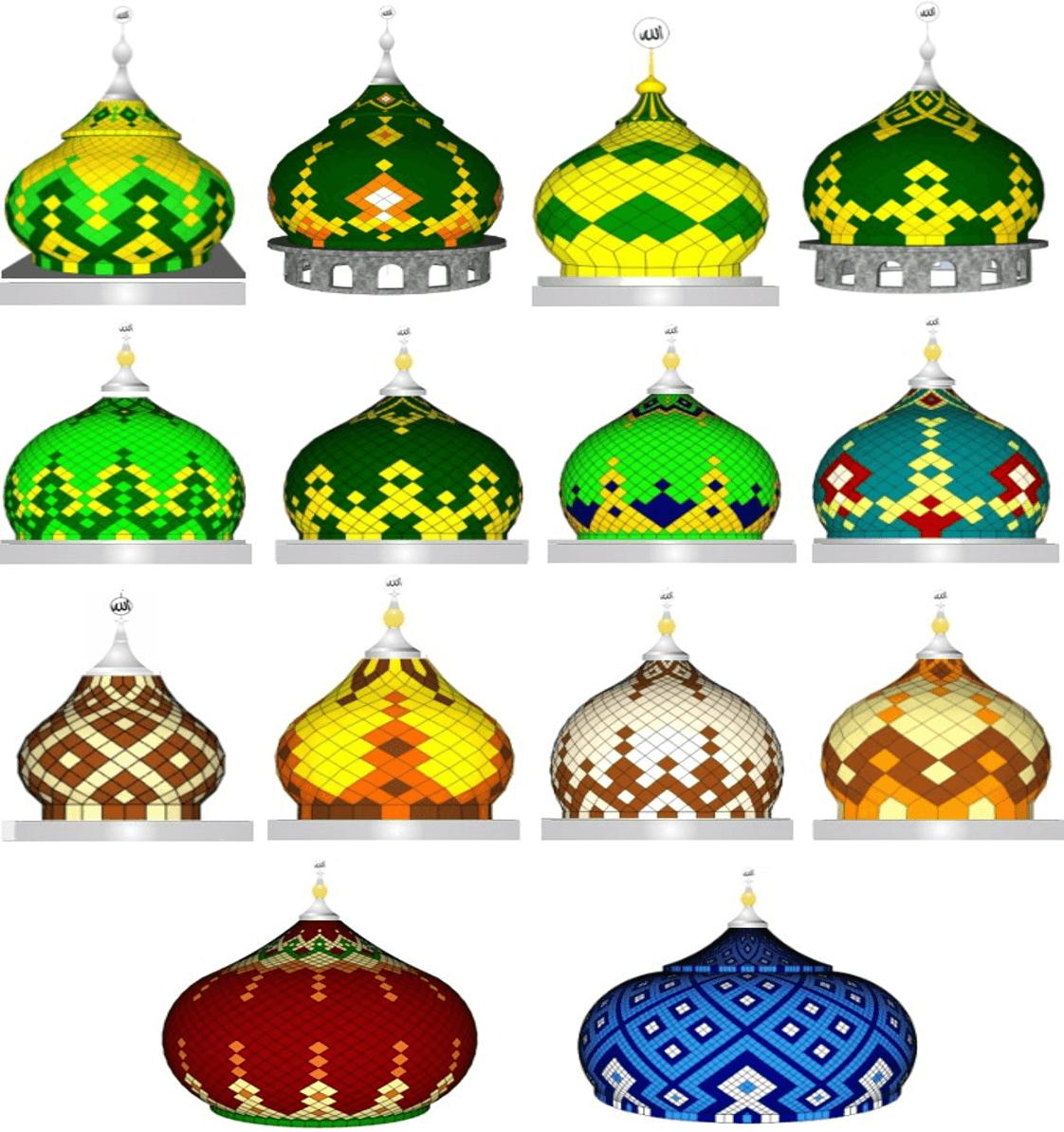 Kubah Masjid Model Bawang