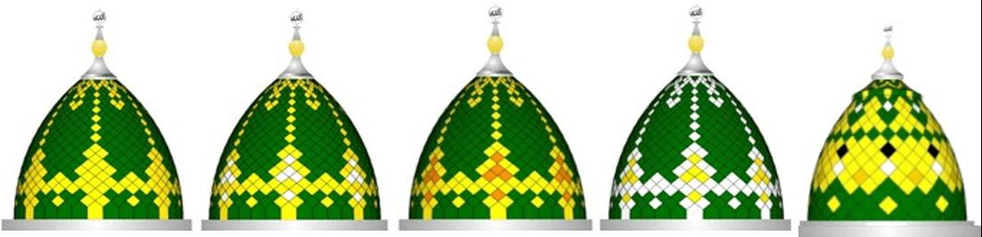 Kubah Masjid Model Pinang