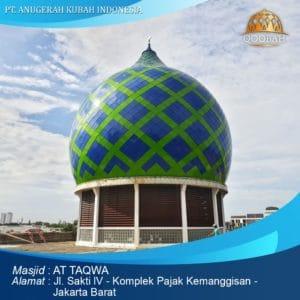 kontraktor kubah masjid jakarta