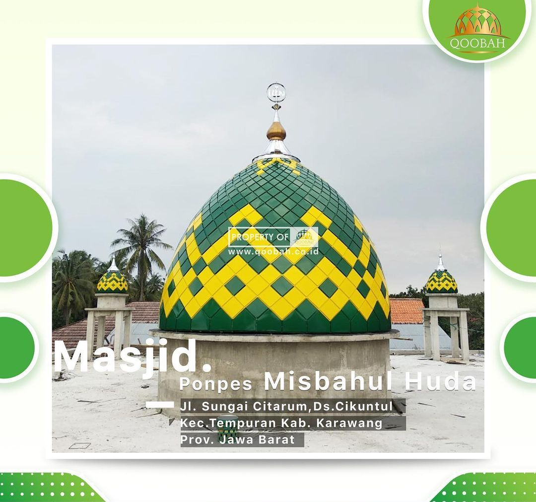 kubah masjid karawang