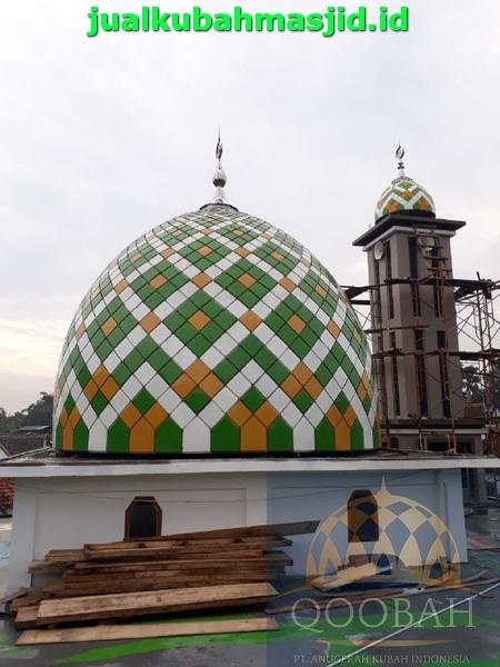 Daftar Harga Kubah Masjid Per Diameter