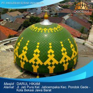 kubah masjid bekasi