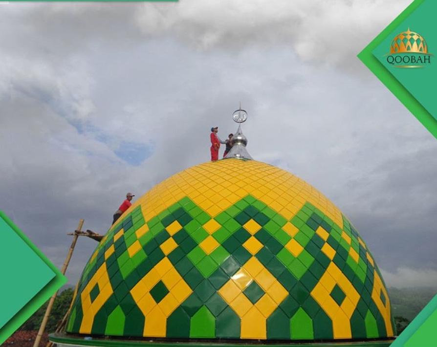 Kubah Masjid Bahan ACP