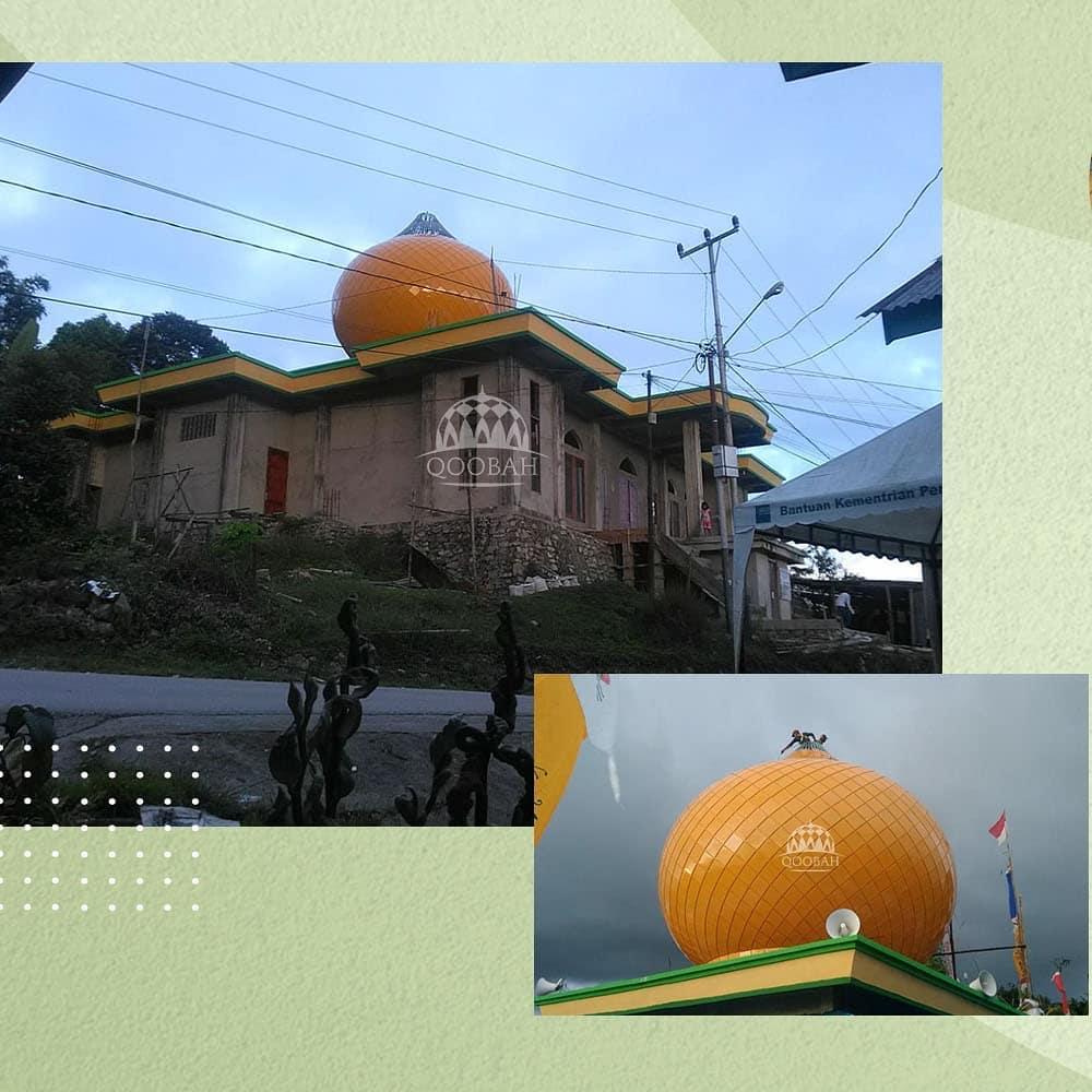 kubah masjid fakfak