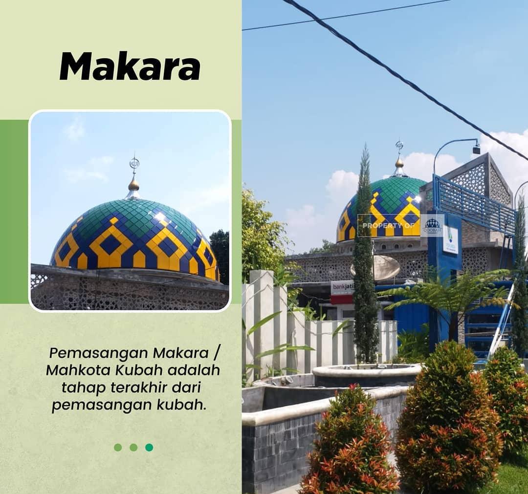 kubah masjid malang