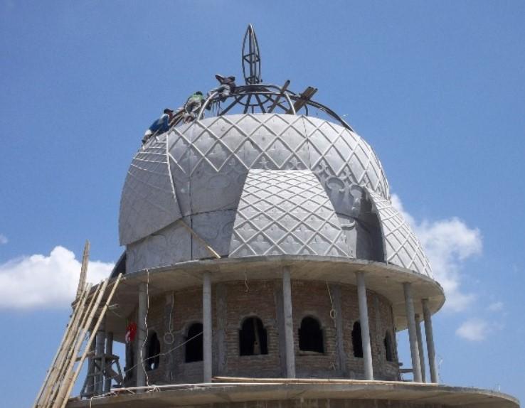 desain kubah masjid GRC