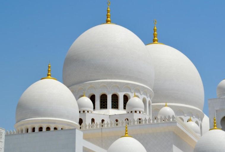 desain kubah masjid beton