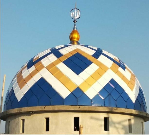 harga kubah masjid galvalum